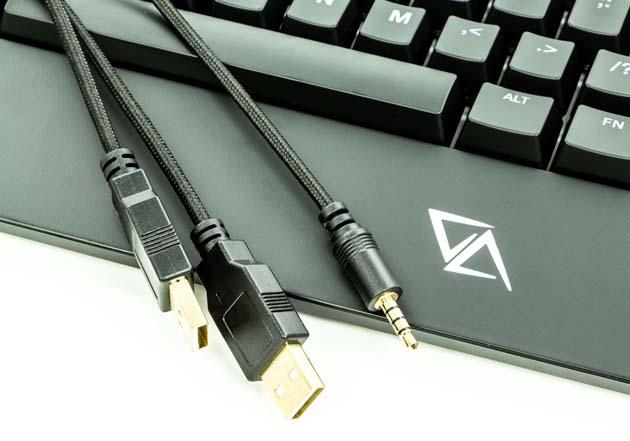 CA Gaming Grizzly - 3 końcówki kabla