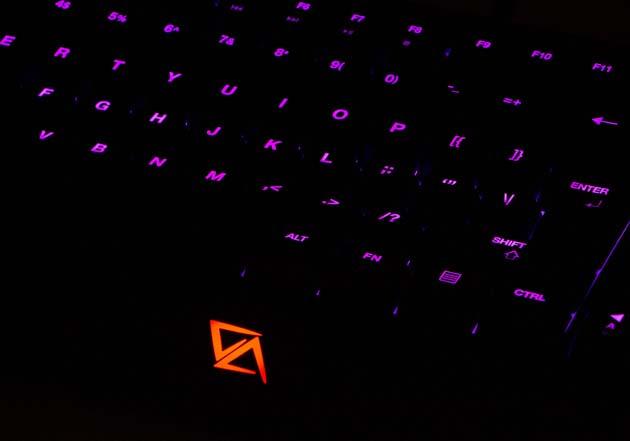 CA Gaming Grizzly - podświetlone logo