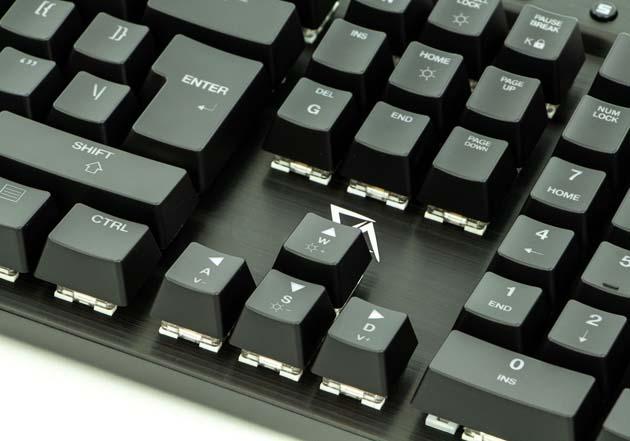 CA Gaming Shark - duży enter i sposób zapisu funkcji przycisków