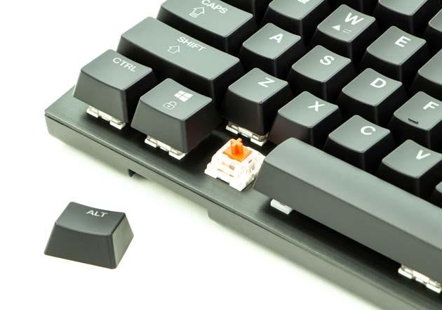 CA Gaming Shark - mikroprzełączniki Jixien Red