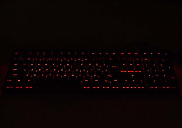CA Gaming Shark - czerwone podświetlenie