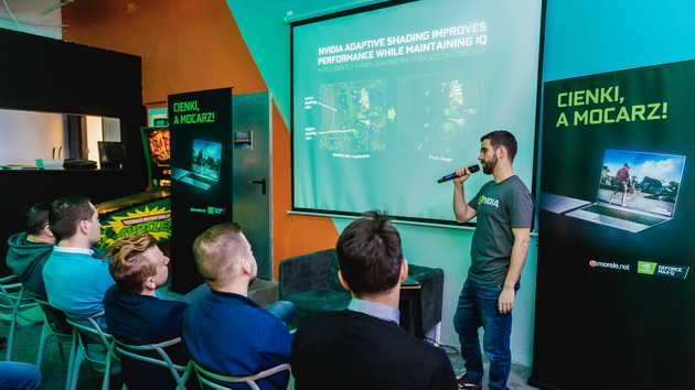 Pokaz NVIDIA - prezentacja
