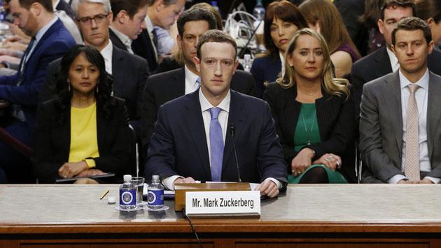Przesłuchanie Marka Zuckerberga przez Kongres USA