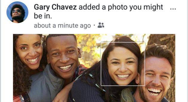 Facebook - rozpoznawanie twarzy