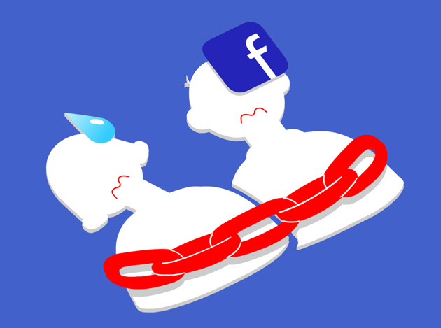 Facebook - depresja