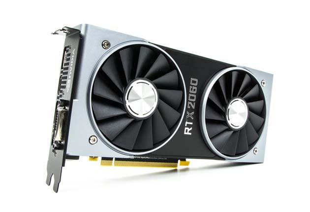 GeForce RTX 2060 - niewielka i zgrabna