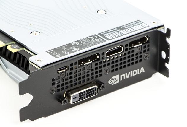 NVIDIA GeForce RTX 2060 - złącza