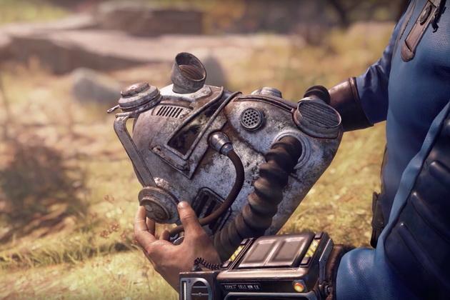 Fallout - hełm wspomaganego pancerza