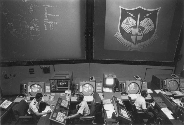 Fallout - archiwalne zdjęcie dowództwa Norad