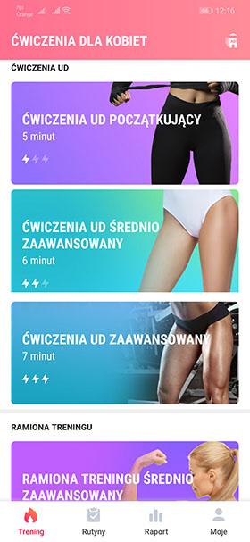 Fitness kobiet - Ćwiczenia dla kobiet