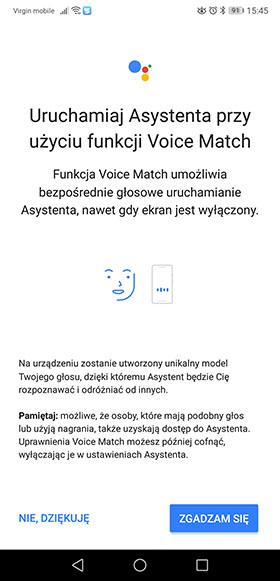 Google Asystent po polsku