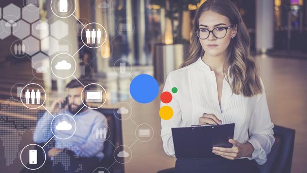 Asystent Google w telefonie po polsku