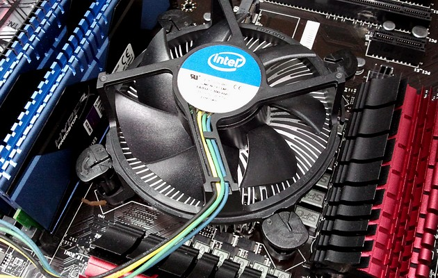 Chłodzenie procesora - standardowy cooler