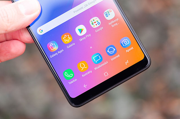 Samsung Galaxy A9 2018 - wyświetlacz