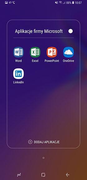 aplikacje Microsoft