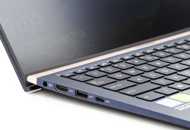 Asus ZenBook UX433 lewy bok