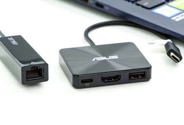 Asus ZenBook UX433 przejściówki