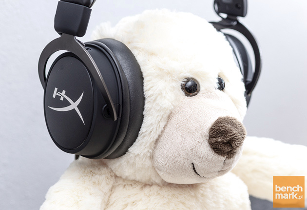 HyperX Cloud Mix miś