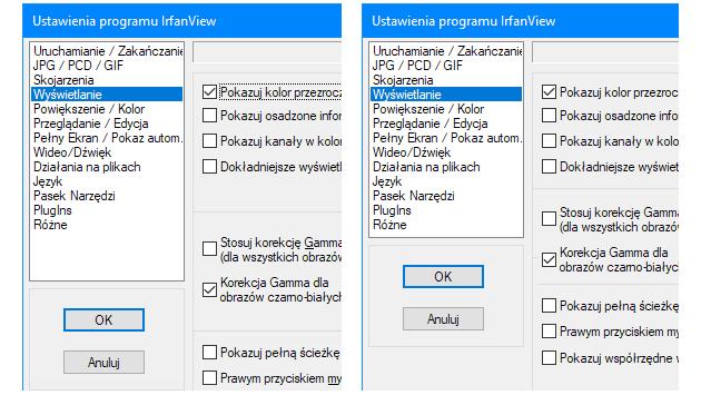 IrfanView modyfikacja screenu