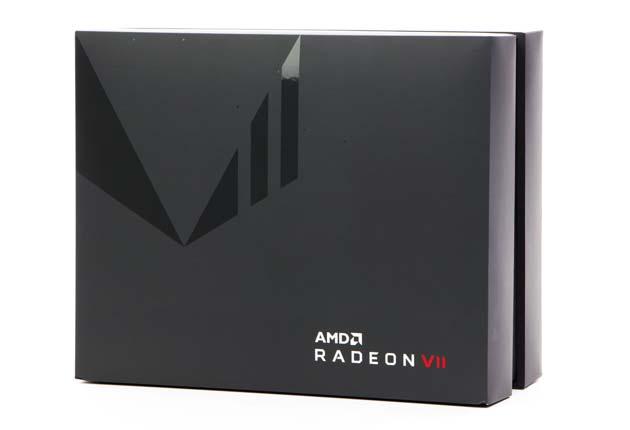 Radeon VII - pudełko