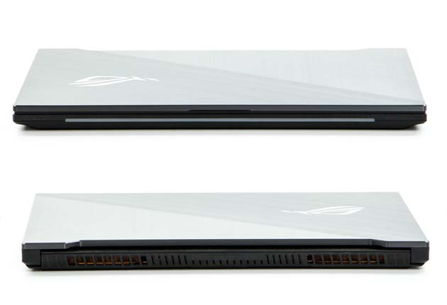 ASUS ROG Strix Scar II (GL704GW-EV002T) przód i tył