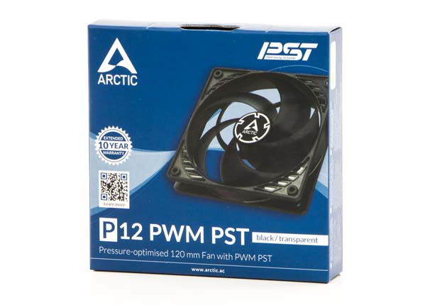 Arctic P12 PWM PST - pudełko