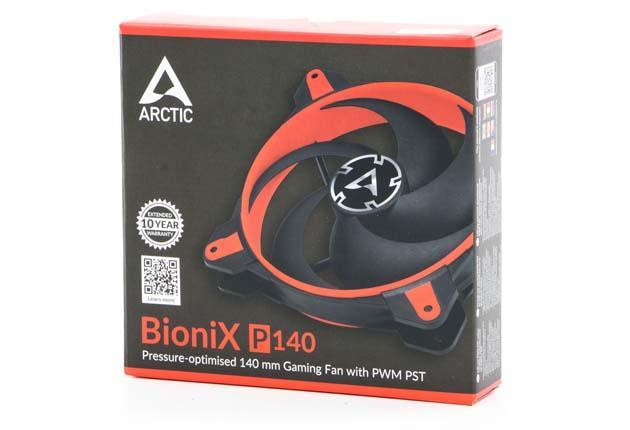 Arctis BioniX P140 w pudełku
