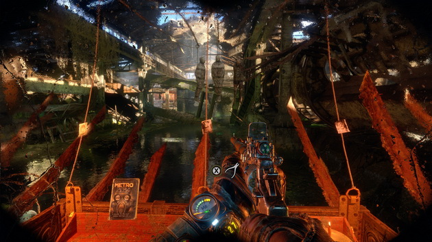 Metro Exodus - legowisko suma mutanta