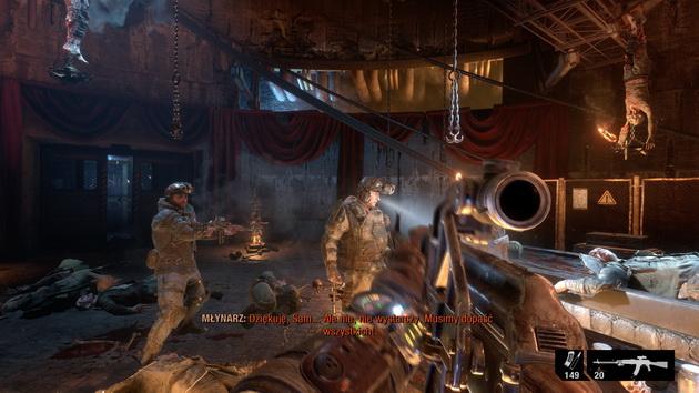 Metro Exodus - po ataku kanibali
