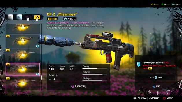 Far Cry New Dawn - nowe rodzaje broni