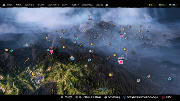 Far Cry New Dawn - mapa świata