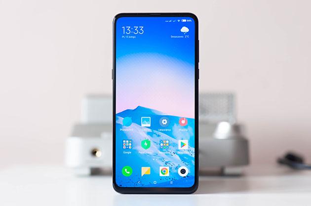 Xiaomi Mi Mix 3 - przód