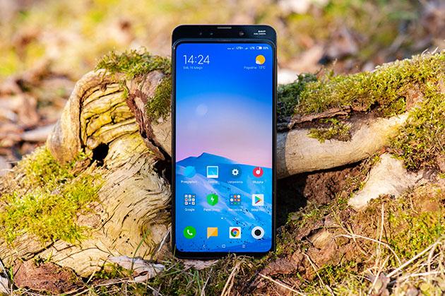 Xiaomi Mi Mix 3 - wysuwany aparat