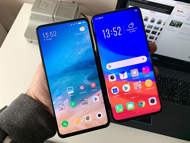 Xiaomi Mi Mix 3 vs Oppo Find X - porównanie