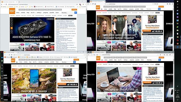 Google Chrome, Mozilla Firefox, Opera i Microsoft Edge