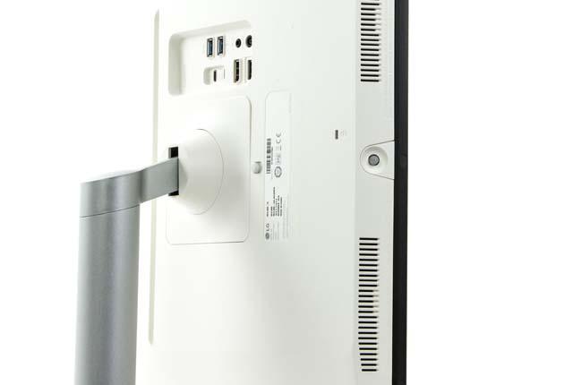 LG 32UL950-W joystick menu
