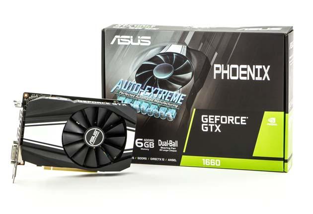 ASUS Phoenix GTX 1660 OC - pudełko