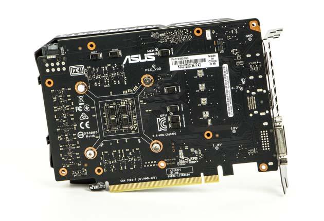 ASUS Phoenix GTX 1660 OC - tył