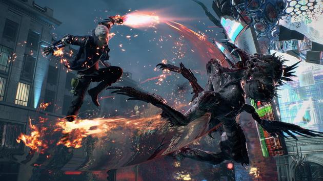 Devil May Cry 5 - Nero z mieczem i protezą ręki