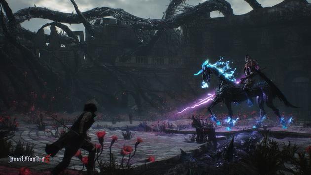 Devil May Cry 5 - V w starciu z bossem