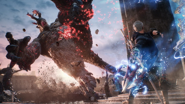 Devil May Cry 5 - Nero walczy z Goliatem