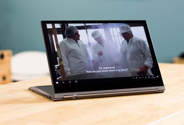 Lenovo Yoga C930 tryb kinowy