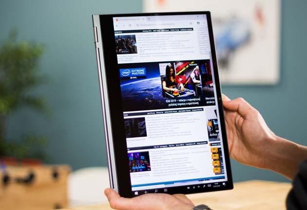 Lenovo Yoga C930 tryb tabletowy