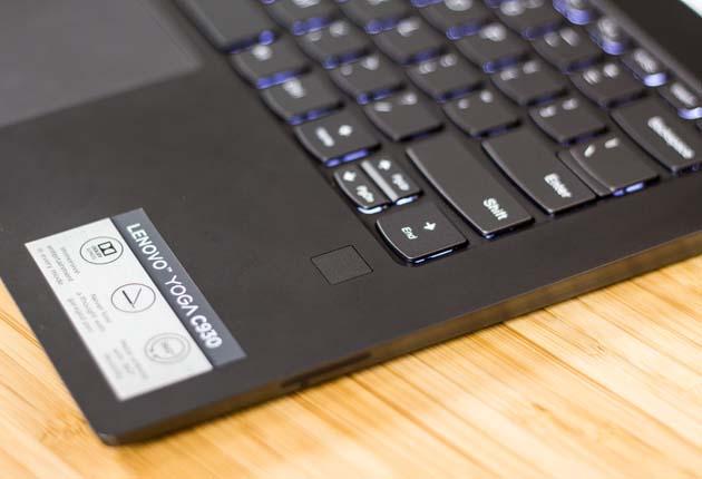 Lenovo Yoga C930 czytnik linii papilarnych