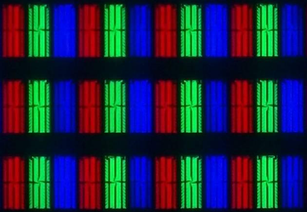 Samsung 65Q900R - struktura subpixeli