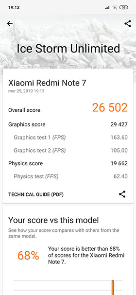 redmi note 7 3dmark