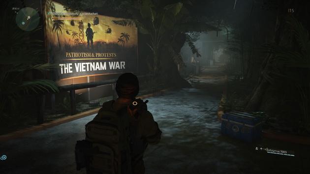 Tom Clancy's The Division 2 - wystawa o wojnie w Witenamie