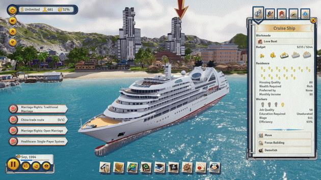Tropico 6 - dobra luksusowe