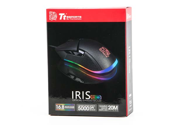 Tt esports IRIS Optical RGB - pudełko