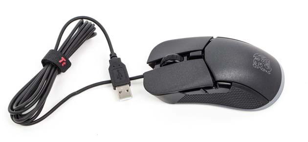 Tt esports IRIS Optical RGB - myszka po wyciągnięciu z pudełka